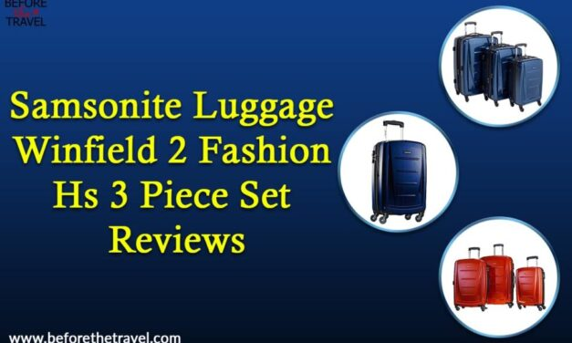 Samsonite Luggage Winfield 2 fashion Hs 3 piece set reviews