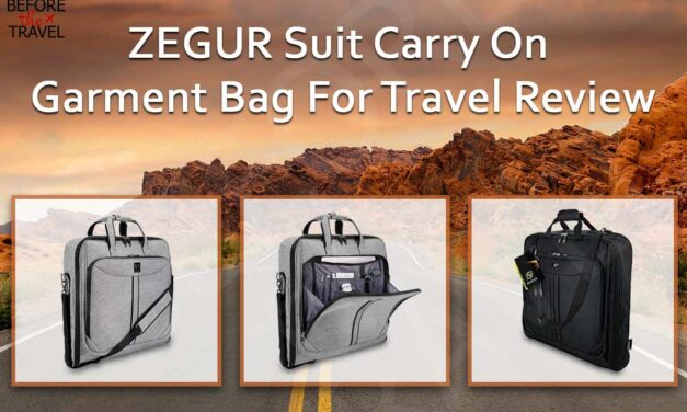 Zegur Suit Carry On Garment Bag Review (2020)