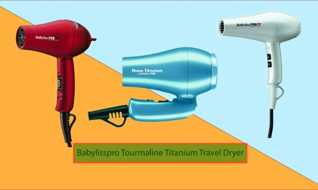 Top Five Babylisspro Tourmaline Titanium Travel Dryer Review