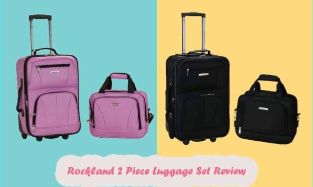 Rockland Luggage 2 Piece Set Review | New Update