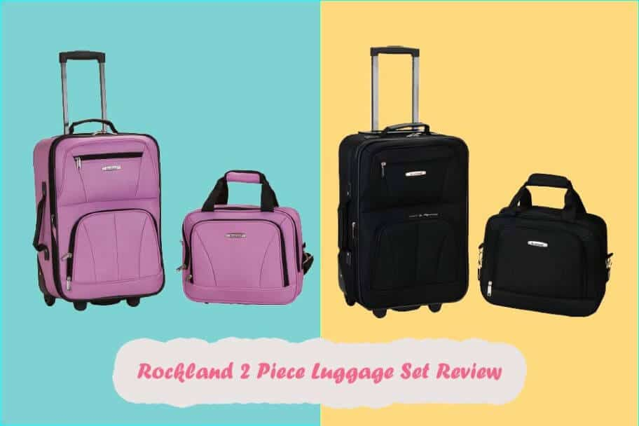 rockland luggage 2 piece