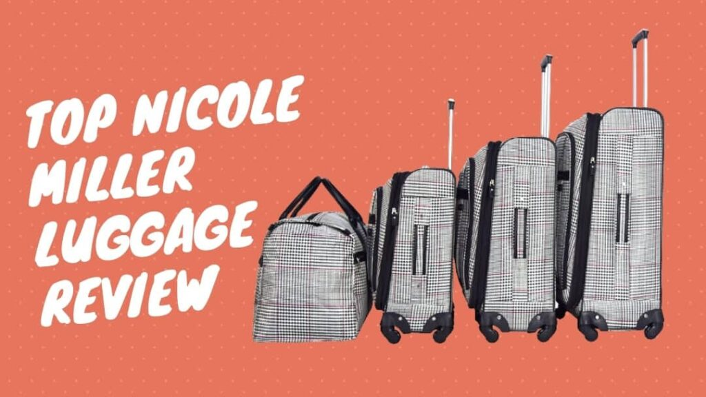 nicole miller luggage review