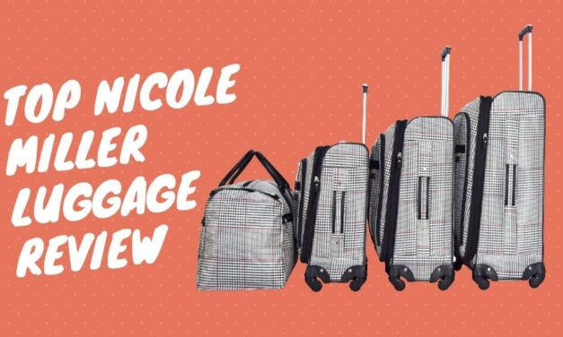 Top 5 nicole miller luggage review for travelers