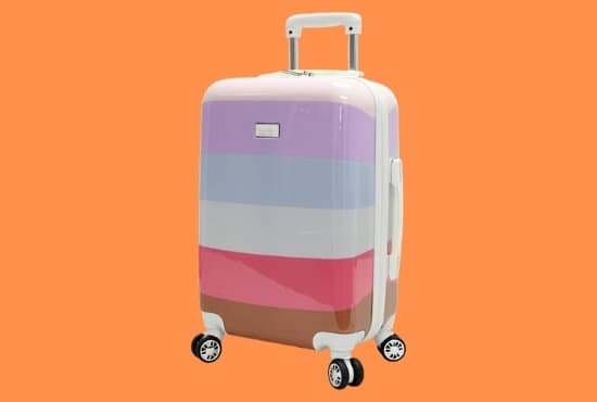 Nicole Miller New York Rainbow Luggage