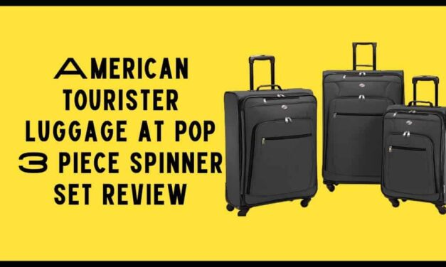 American tourister luggage at pop 3 piece spinner set review for beginners